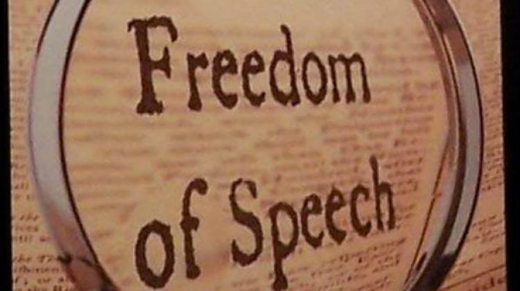 The Right Suddenly Believes In Freedom Of Speech
