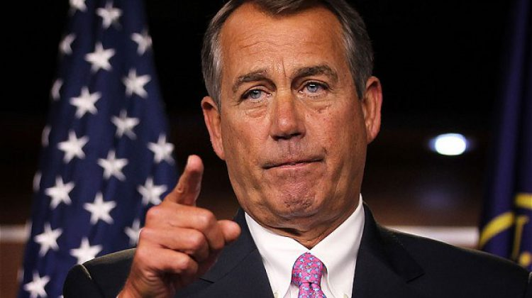 John Boehner Holding Townhall Tomorrow