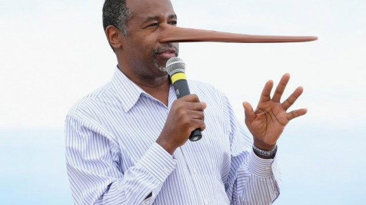 Ben Carson's Caught In Biggest Lie Yet