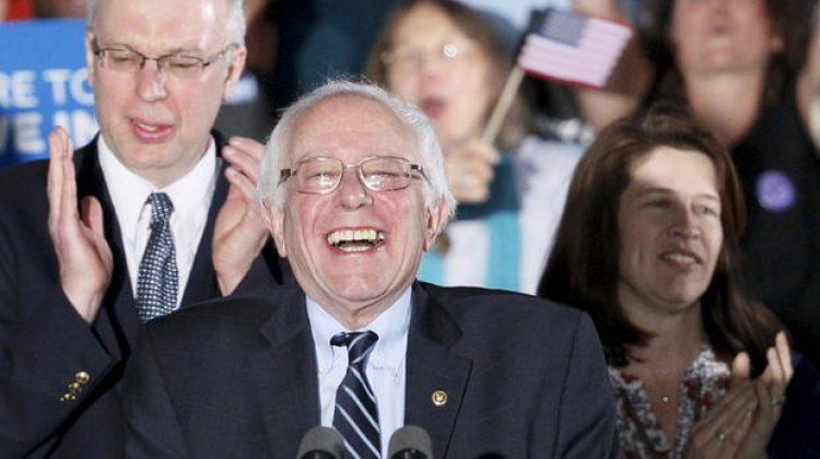 Bernie's Yugeeee Victory Last Night