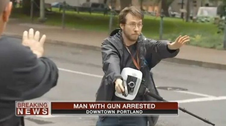Wingnut Blogger Arrested After Pointing Gun At BLM Rally